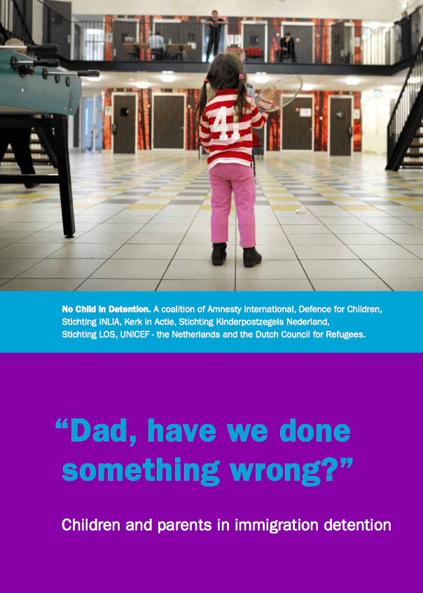 "Source: ""Dad, have we done something wrong?"" Children and Parents in Immigration Detention"