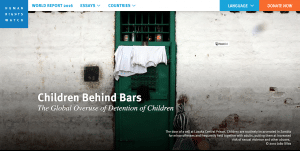 The Global Overuse of Detention of Children